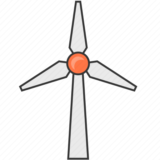 eco, energy, generate, green, natural, wind power icon