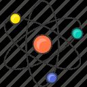 atom, chemistry, danger, energy, nuclear, ragioactive icon