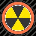 radioactive, danger, nuclear, energy, warning, atom
