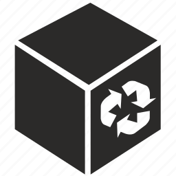 box, delivery, ecology, pack, package icon