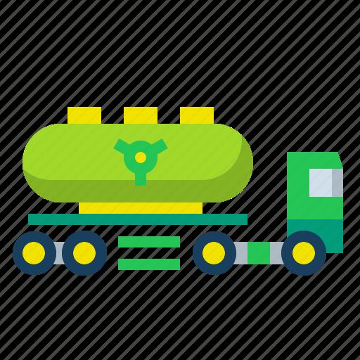 fuel, gas, oil, transportation, truck icon