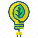 concept, ecology, energy, green, power icon