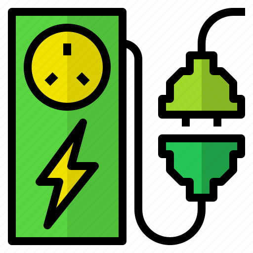 charge, electric, energy, power, station icon