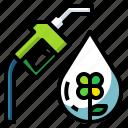 fuel, bio, oil, diesel, nature icon