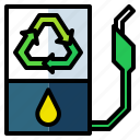 fuel, gasoline, oil, petroleum, station icon