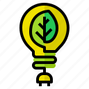 energy, concept, green, power, ecology icon