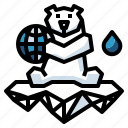 animal, arctic, bear, polar, wildlife icon