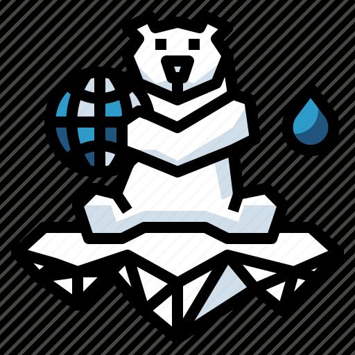animal, arctic, bear, polar, wildlife icon