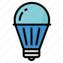 energy, lamp, led, light, save icon