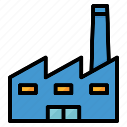 eco, ecology, factory, global, industry, pollution, warming icon