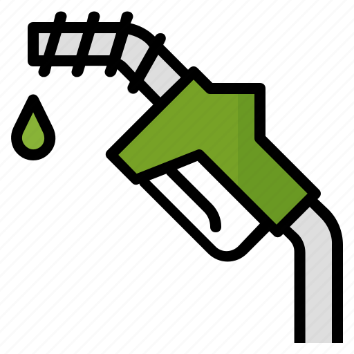 energy, fuel, gas, green, station icon