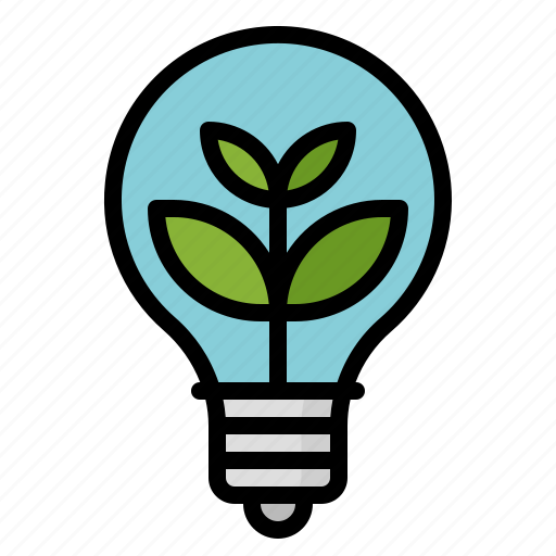 ecology, environment, green, idea icon