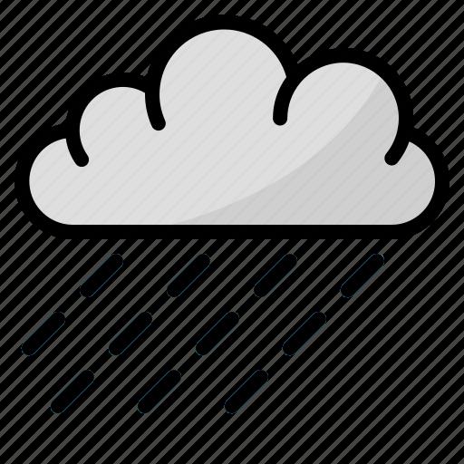drop, nature, rain, water icon