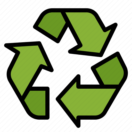 bin, garbage, recycle, sign, trash icon