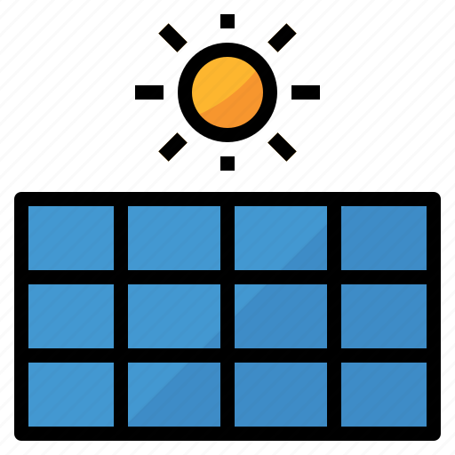 eco, energy, environment, green, solar cell icon