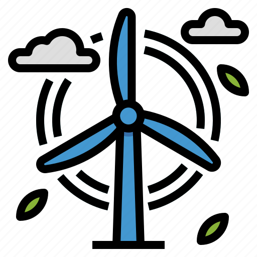 clean, energy, green, power, windmill icon