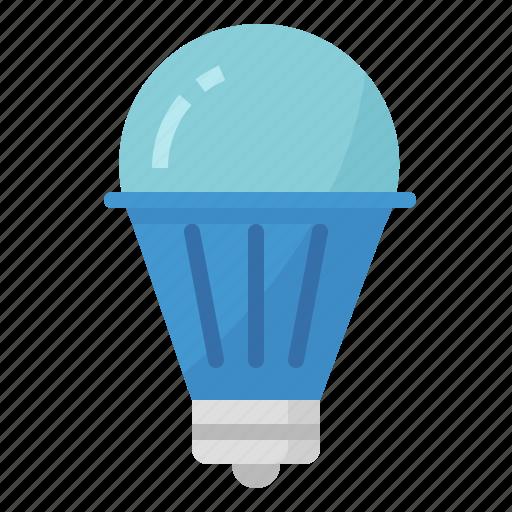 energy, lamp, led, light, save icon
