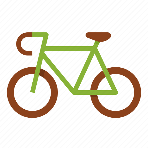 bicycle, eco, exercise, healthy, ride icon