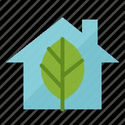 eco, ecology, environment, green, house icon