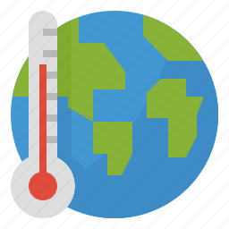eco, ecology, global, hot, temperture, warming icon