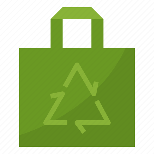 bag, eco, ecology, environment, green, recycle icon