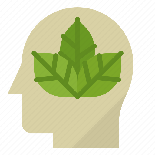 eco, ecology, environment, green, think icon
