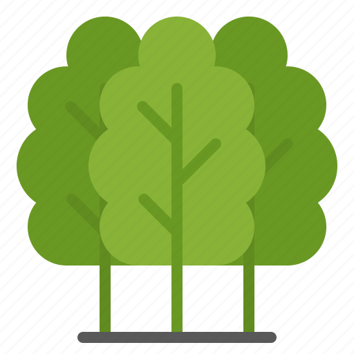 Eco, Environment, Green, Trees Icon