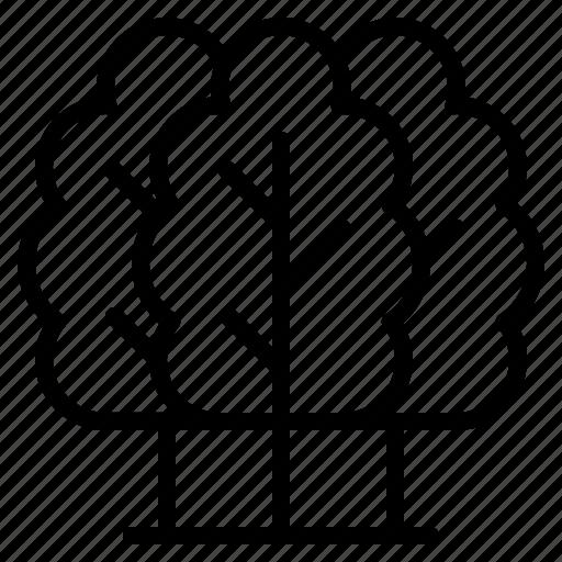 eco, environment, green, trees icon