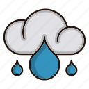 ecology, environment, nature, rainy, weather icon