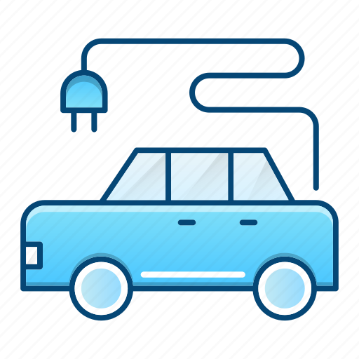 car, ecology, electrical, transport icon