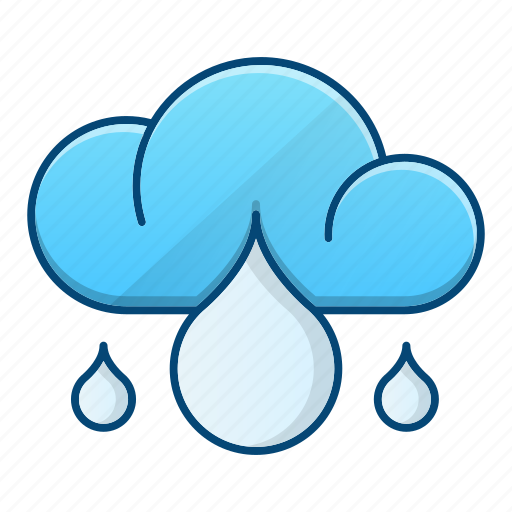 cloud, environment, rainy, storm icon