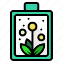 battery, ecology, environment, power icon