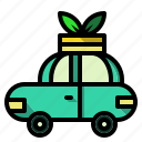 car, ecology, environment, transport, transportation icon