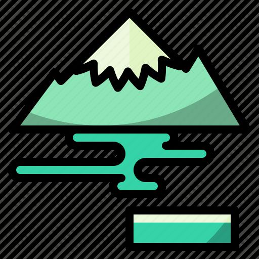 glacier, nature, north, polar, pole icon