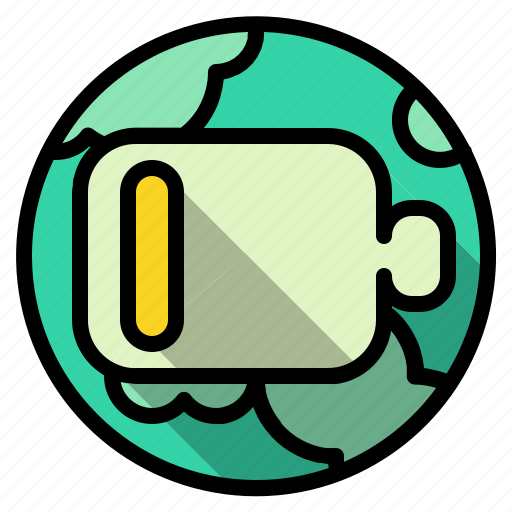battery, ecology, environment, low, power icon