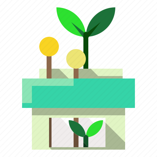 buildings, eco, ecology, home, house icon