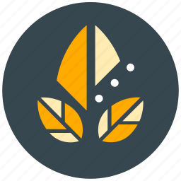 ecology, leaf, leaves, natural, organic icon