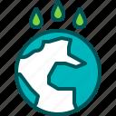 earth, water, rain, sea, mineral