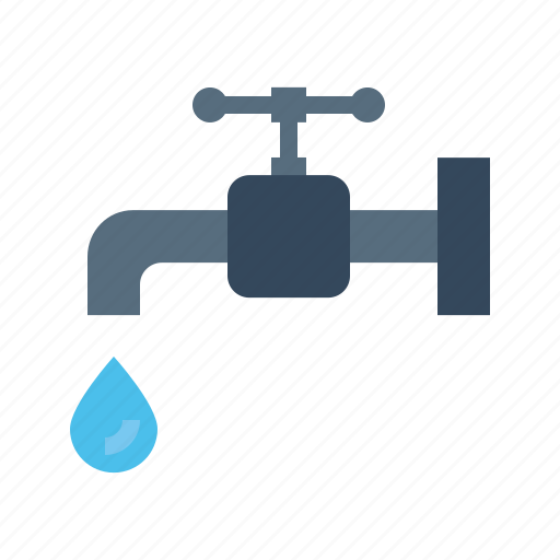 drop, ecology, environment, pipe, tap, valve, water icon