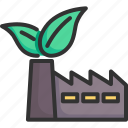 ecology, energy, environment, factory, green, industrial, pollution icon