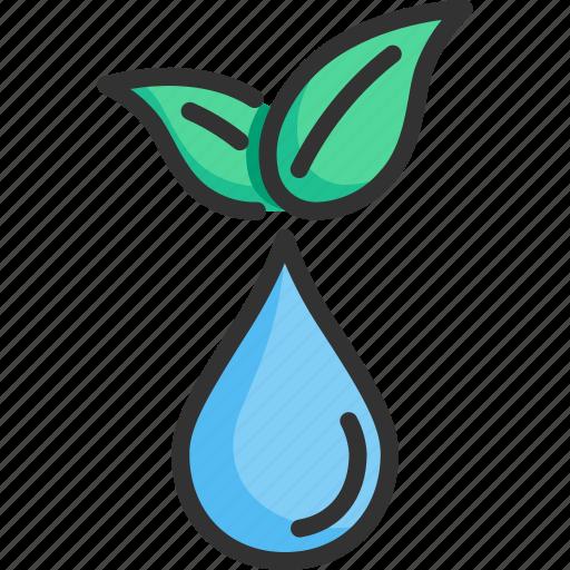 clean, environment, fresh, liquid, nature, pure, water icon