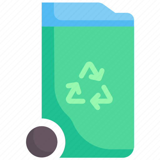 bin, ecology, environment, recycle, recycling, trash, waste icon