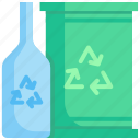 bottle, ecology, environment, package, plastic, recycle, reuse icon