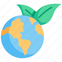 concept, earth, ecology, environment, global, green, nature icon