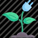 concept, ecology, energy, environment, green, nature, plugin