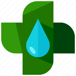add, eco, ecology, environment, nature, water icon