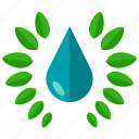 drop, eco, ecology, environment, nature, water icon