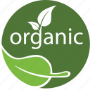 bio, eco, ecology, green, label, nature, organic, plant, product icon