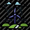 wind, energy, turbine, green, windmill, eolic, power