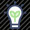 bulb, electricity, energy, green energy